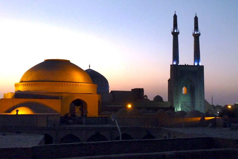 #Iran Reisen PKW Yazd2#
